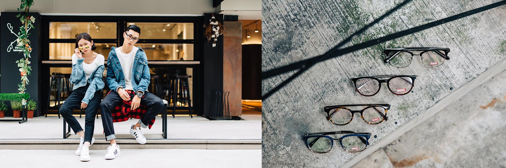 夏日穿搭新亮點!MARVEL主題+眼鏡配件,細節讓你脫穎而出!