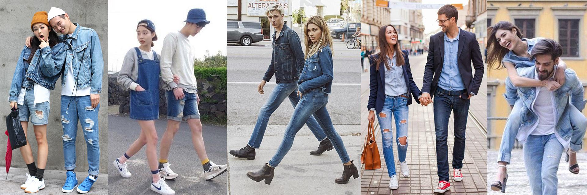 從高中生到輕熟男女都適合!看不膩的各年齡層「丹寧情侶穿搭要點」