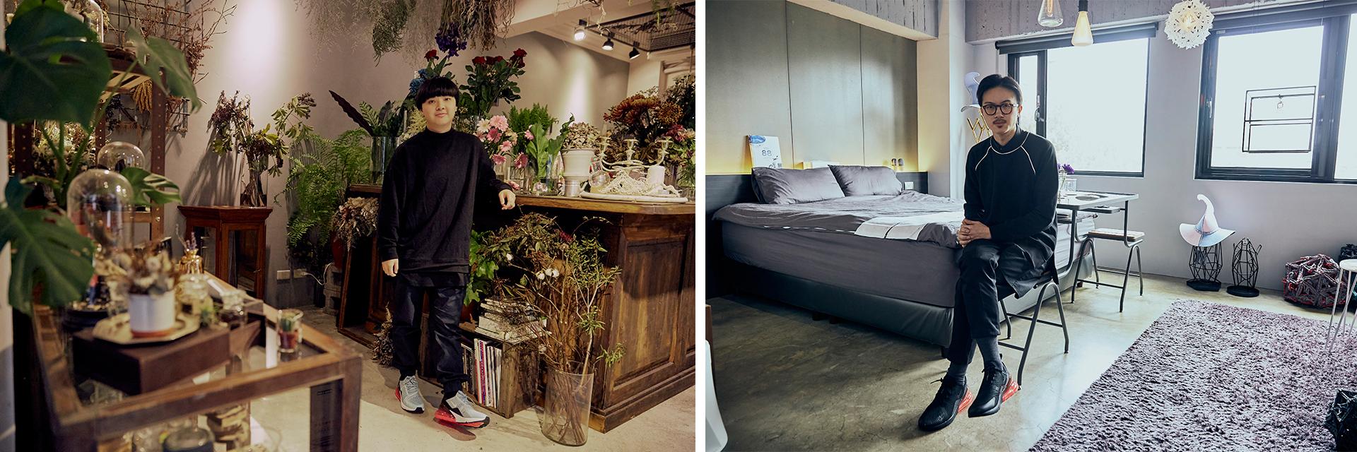 台北 2 大人氣打卡點揭密!「花疫室」、「玩味旅舍 Future Lab」兩大設計師 Kris & Paul 用想像創造空間