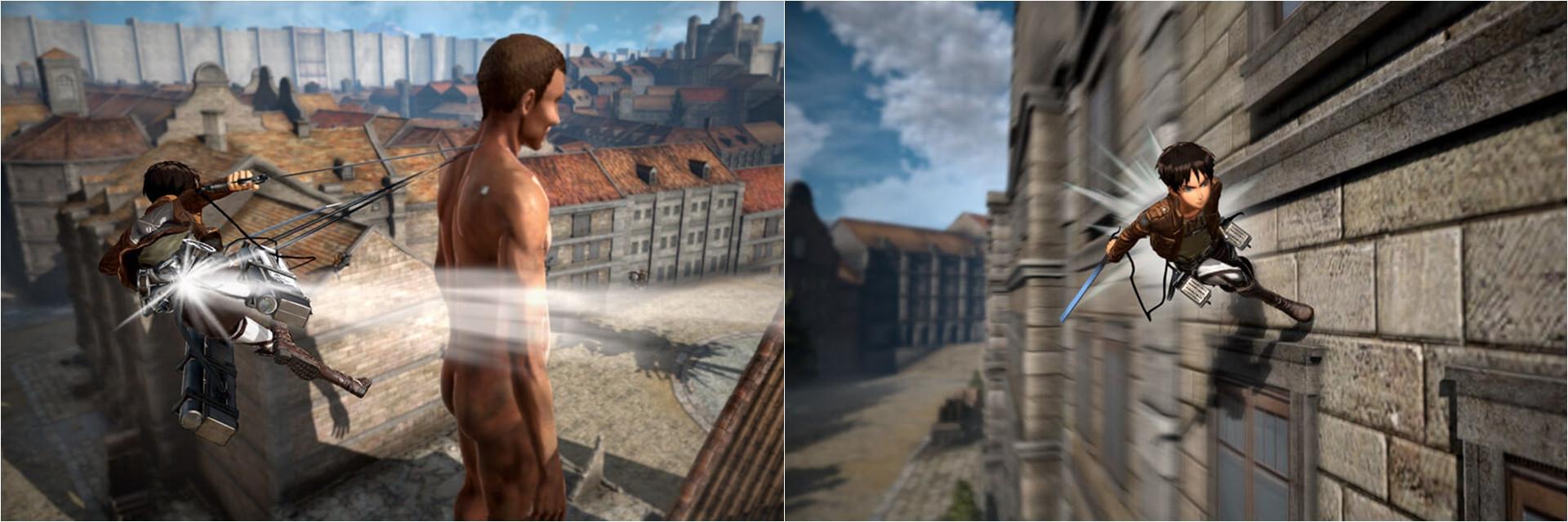 【講 GAME 話】《進擊的巨人 2》忠實呈現原作!不想被吃掉?那就飛簷走壁砍巨人!
