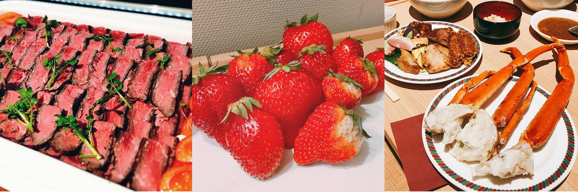 到了日本,減肥永遠是明天的事!前進東北,一起大啖草莓、螃蟹、山形牛!
