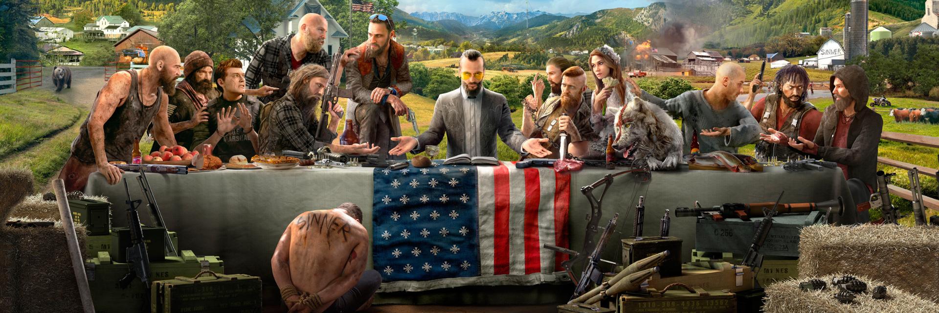 【講 GAME 話】不信教就吃子彈!《極地戰嚎 5》點燃反抗之火 一同對抗邪教勢力!
