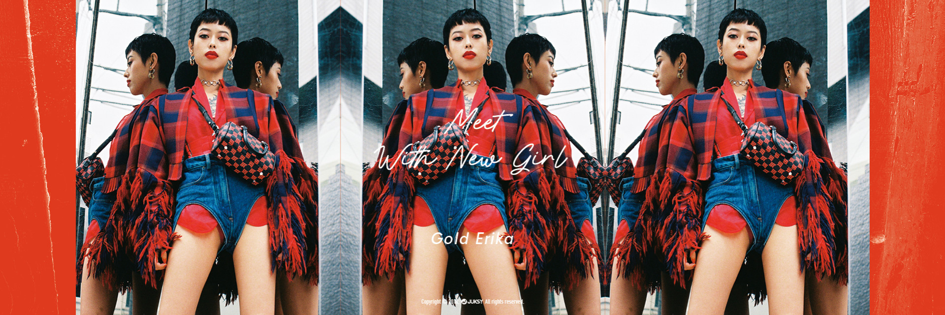 【 Meet With New Girl 】具殺氣的青文字系代表!活躍日本時尚圈的中國籍 KOL - Gold Erika