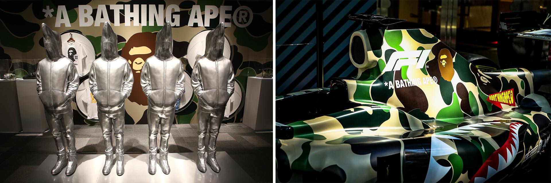 首度與 F1 聯名!看完這次 25 週年紀念展,下回你絕對不會想錯過 BAPE 的任何活動