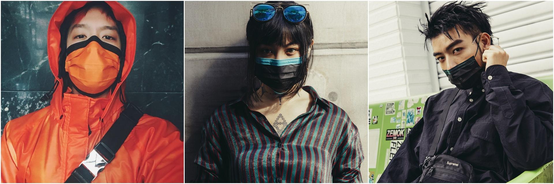 潮到分手!讓周湯豪一試成主顧的「潮流口罩」品牌,原來街拍型人早就默默在戴?