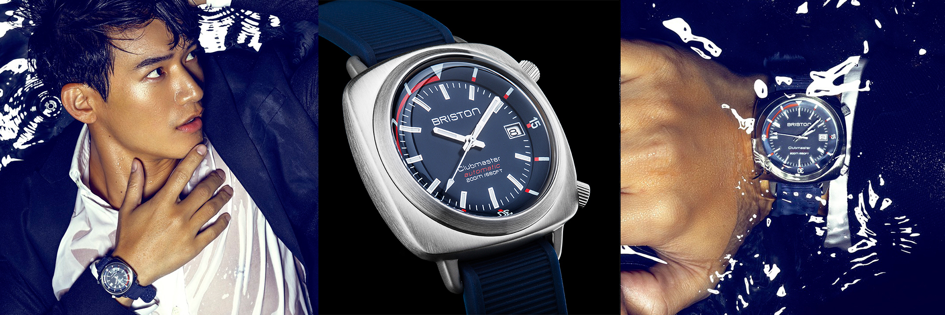 多種風格依舊 Hold 住!法國時尚運動手錶  BRISTON DIVER BRUSHED STEEL 晉升「腕錶潛力股」