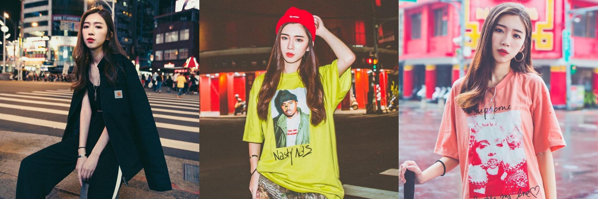 【潮妹一週間】潮牌也能穿出女人味!潮店御用模特 Sunny 全身 Supreme 但最愛的還是這個日系品牌!