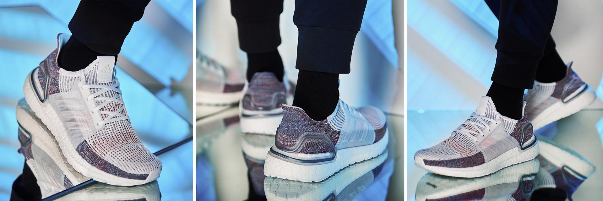 adidas 傳奇跑鞋「究極進化版」腳感狂升級!手刀奉上 UltraBOOST 19 全新配色「Refract 炫彩白」發售訊息