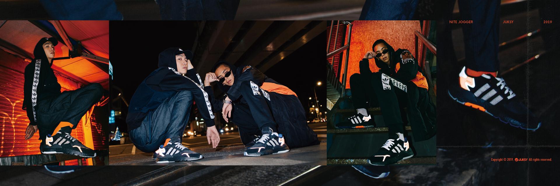 謎樣黑炫光重襲街頭!黑的發光才夠悍, adidas Originals 再揭最強武器制霸潮流界!