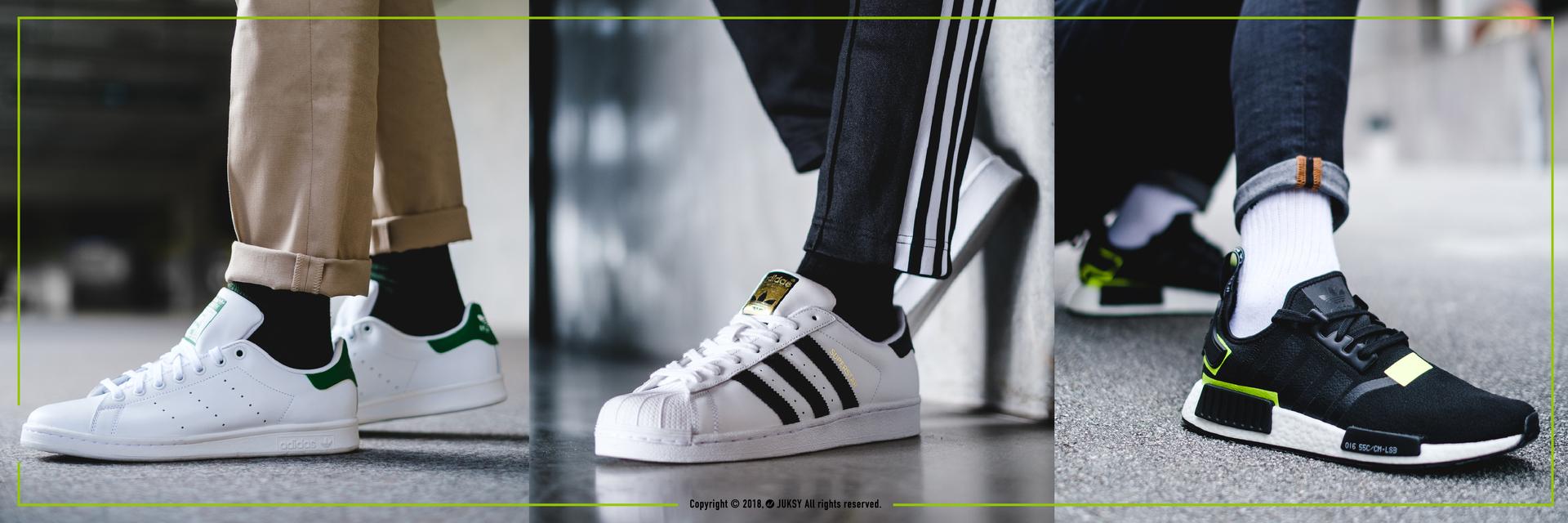 潮流界經典他們制霸!那些 adidas Originals 你不該錯過的 3 雙經典鞋款