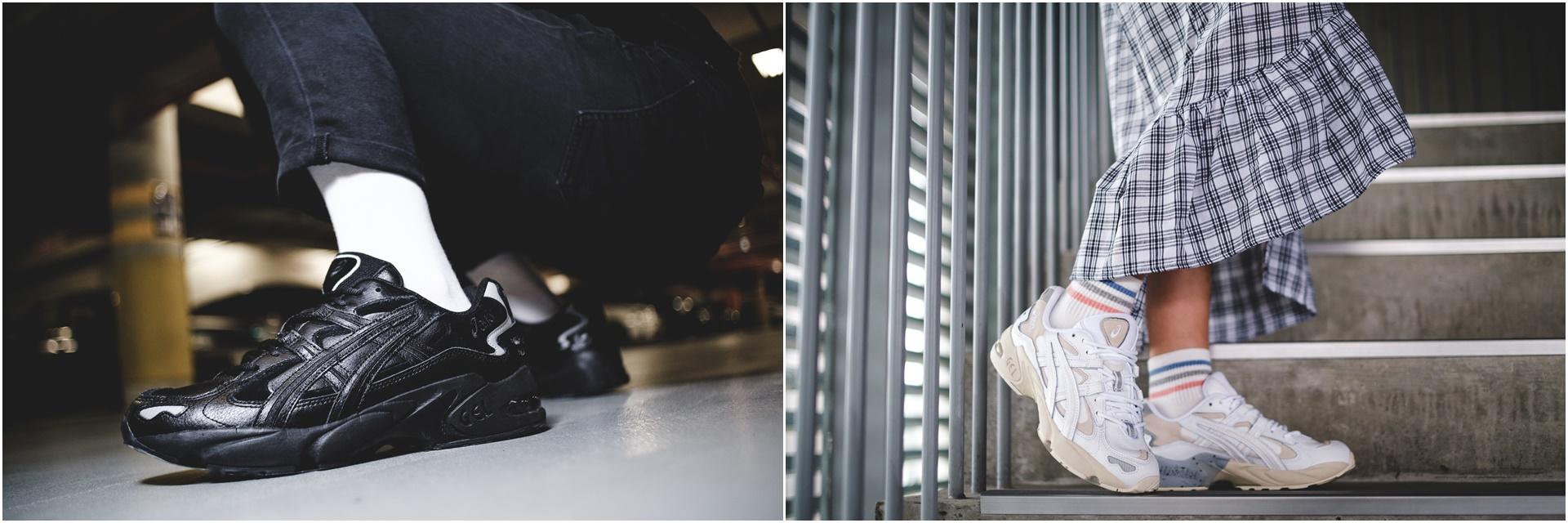 質感皮革讓老爹鞋更有味!ASICS 旗下 ASICSTIGER 潮流力作 GEL-KAYANO 5 OG 全新版本,極簡黑白配色、男女款強勢再臨!