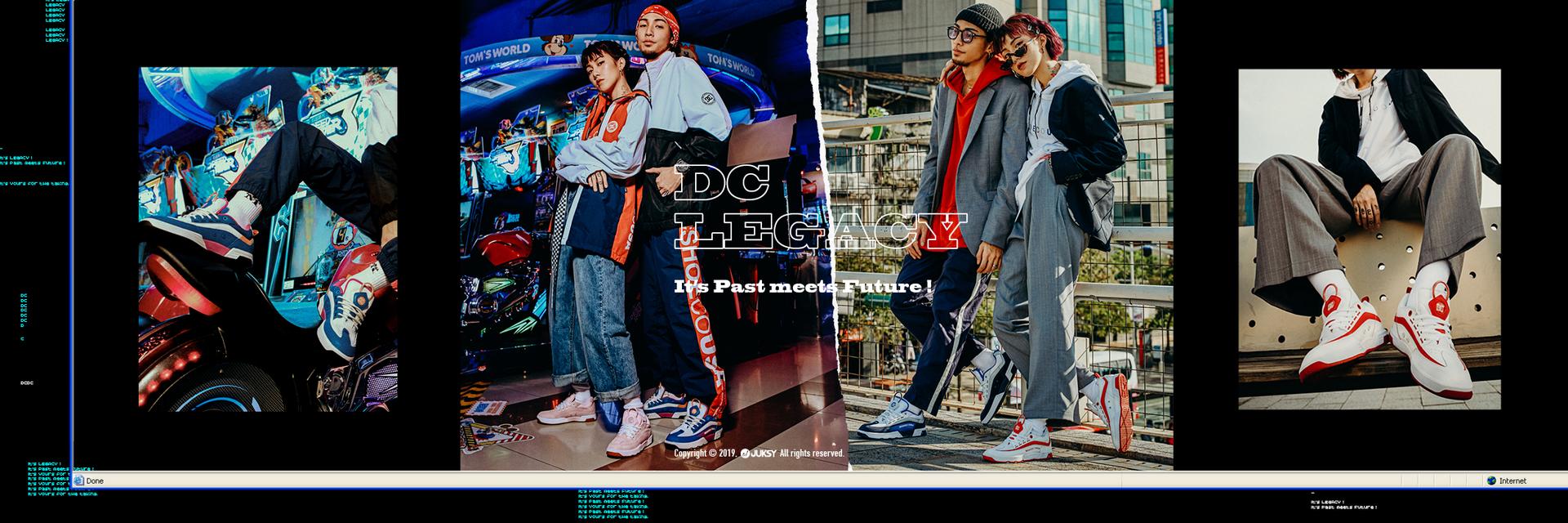 經典再現 從九零到今代 DC SHOES 不滅!街頭潮人演繹復刻鞋款 LEGACY,25 週年持續攻佔!
