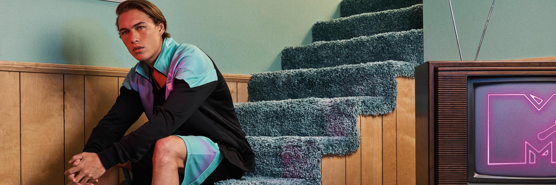 復刻翻玩能量大爆發 流行指標跨界新聯名 PUMA攜手MTV音樂潮流領航家  重塑流行音樂與運動時尚新指標