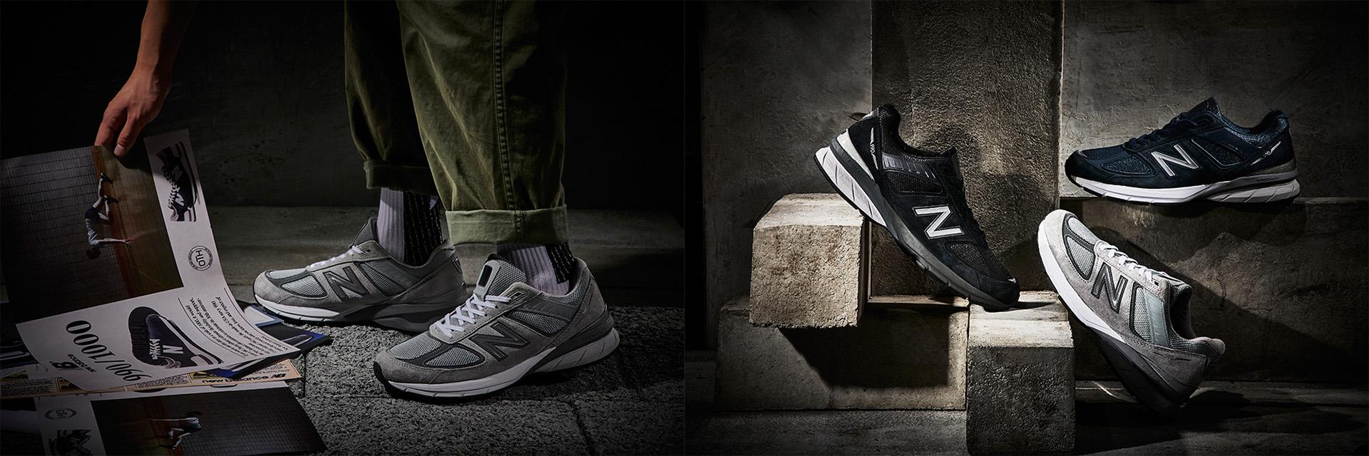 真正的老爹鞋王!New Balance 990 系列不只是余文樂的愛鞋,它的歷史更是精彩