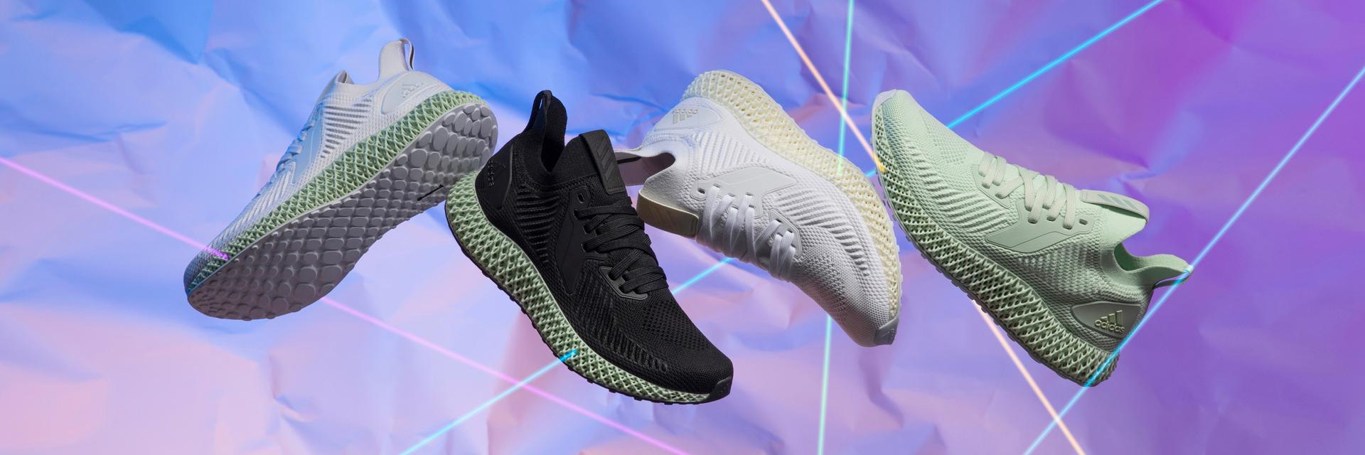 顛覆大作再出擊!adidas 4D 異形中底,嶄新「黑」色踏入未來!