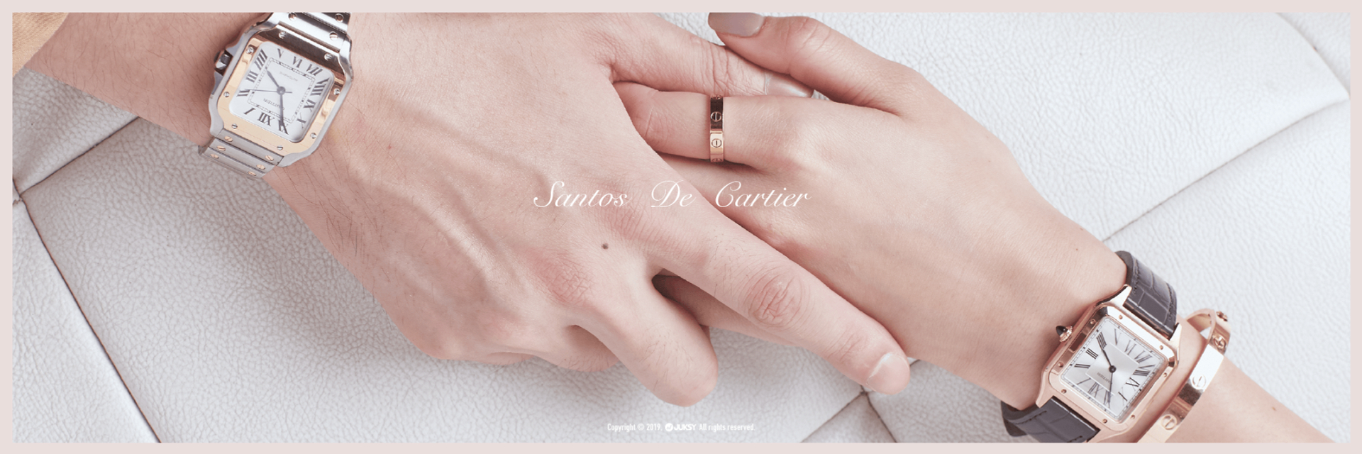 「親愛的,今年我們對錶放閃吧 ! 」  SANTOS DE CARTIER 就像真愛的他,陪伴彼此的每一刻