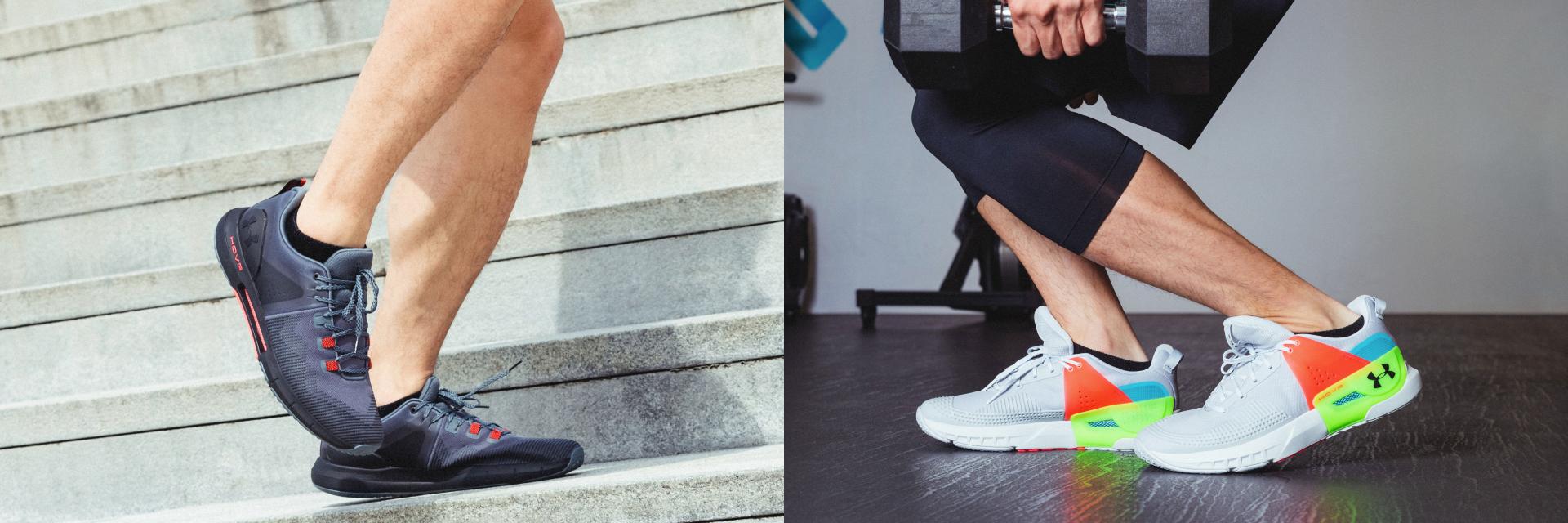 夏日健身靠這一定妥!最佳裝備 UA HOVR APEX & HOVR RISE  訓練鞋升級版有多強?編輯實測給你看!
