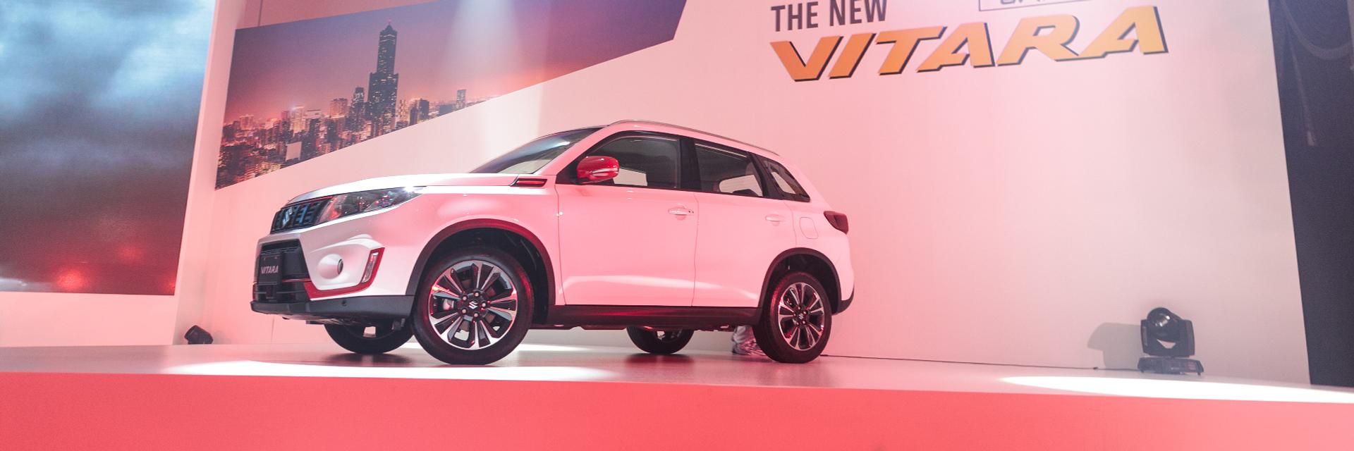 耍野也要顧安全!Suzuki Vitara 小改款安全性能大升級,77 萬立即享有百萬規格