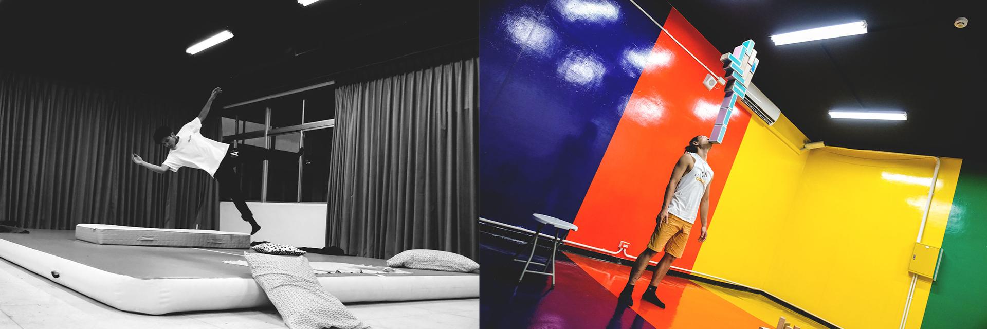 JUKSY 編輯帶你到空總看表演暢玩感官!決不能錯過的新馬戲《公寓裡凡人不會做的家事》