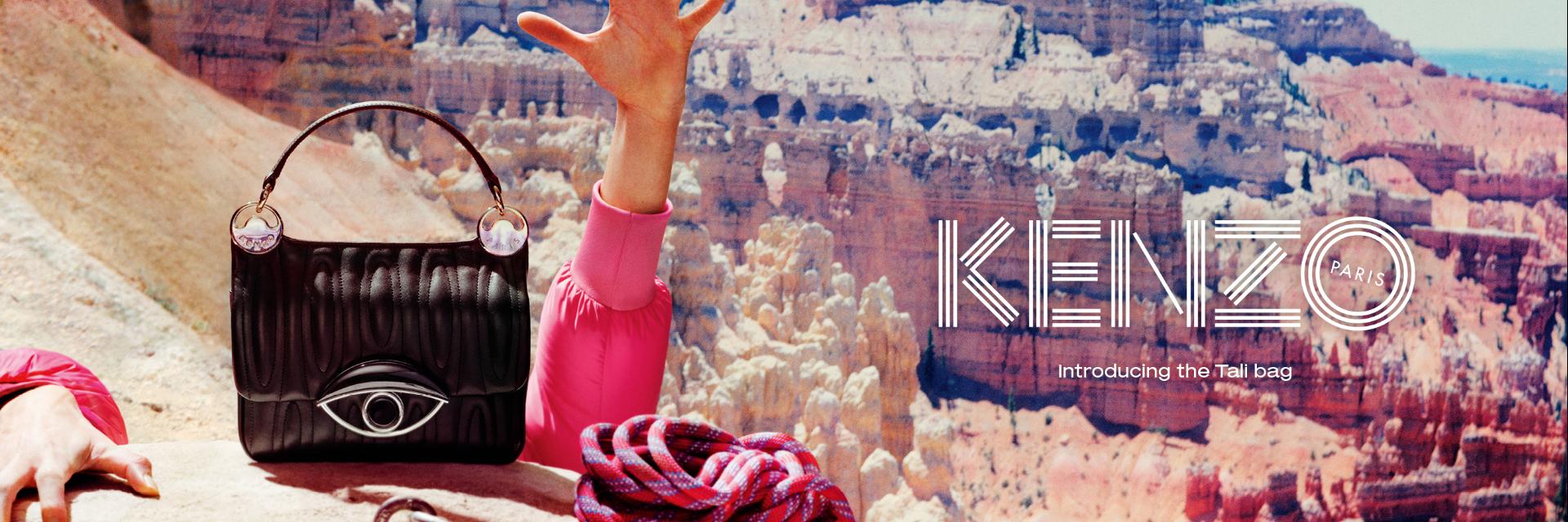 最時尚的守護神! KENZO  TALI BAG 不只要打破常規讓你大開眼界,還要讓你擁有力量和幸運!
