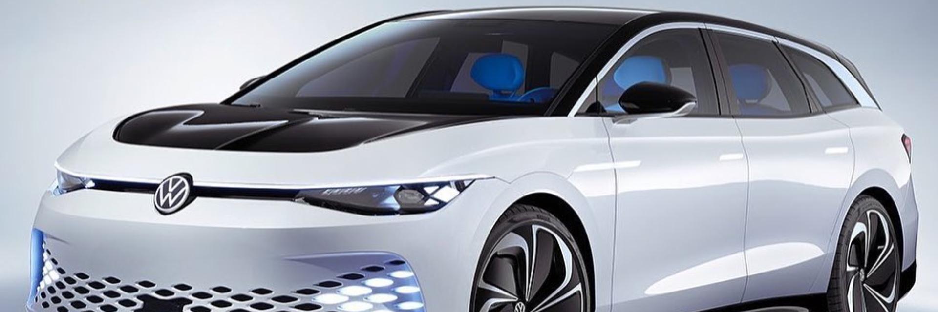 未來車上路!福斯推出電動車 Space Vizzion,揭開新時代旅行車的序幕!