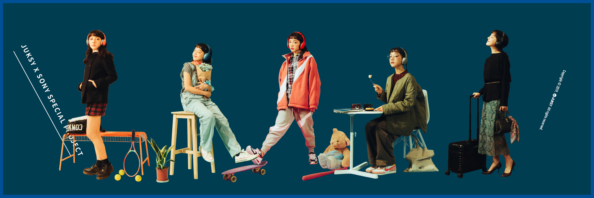 「耳機」再進化,跳出你的衣櫃當主角!少了音樂生活還有什麼!?Sony  h.ear 無線藍牙系列 WH-H910N 與 WH-H810 的 Color 日常!