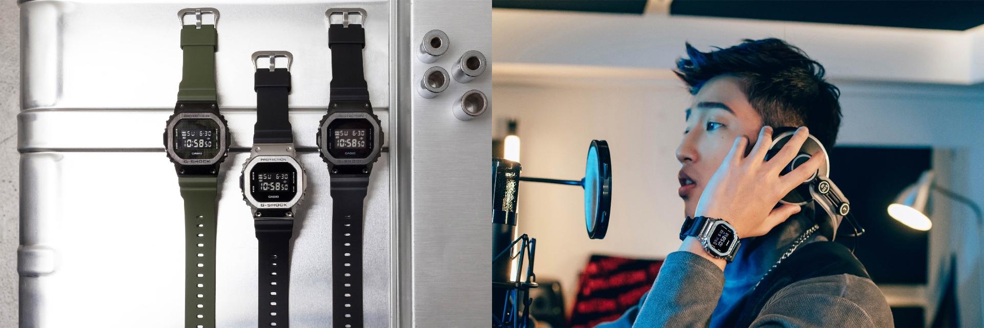 G-SHOCK經典錶款 5600系列再升級,金屬質感讓強悍態度更進擊!這個初戀情人我可以~