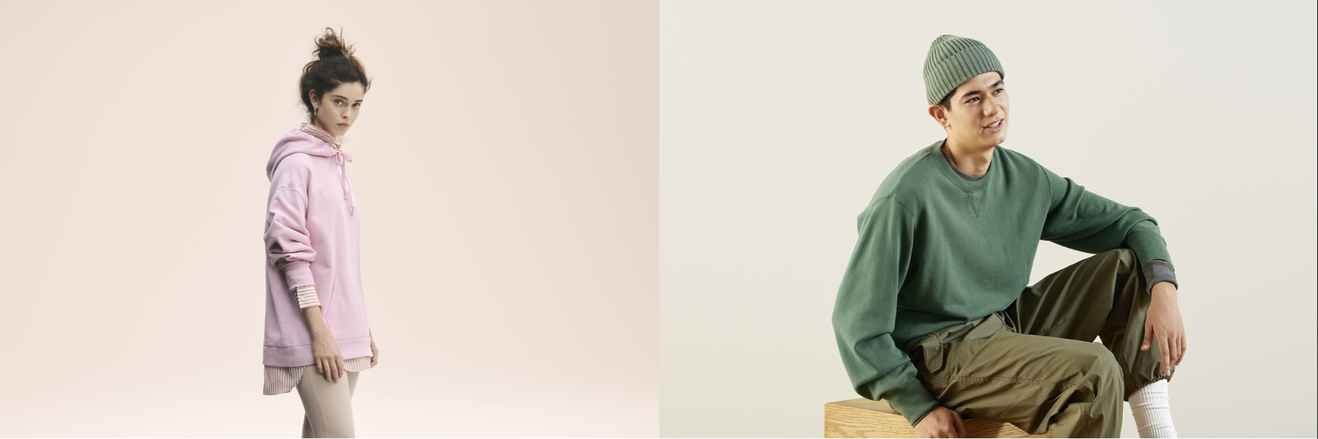 跨年這樣穿就對了! UNIQLO 推出早春「SWEAT 厚 T」、 褲裝與外套系列 超吸睛馬卡龍色彩與時尚剪裁,輕鬆穿就有風格!