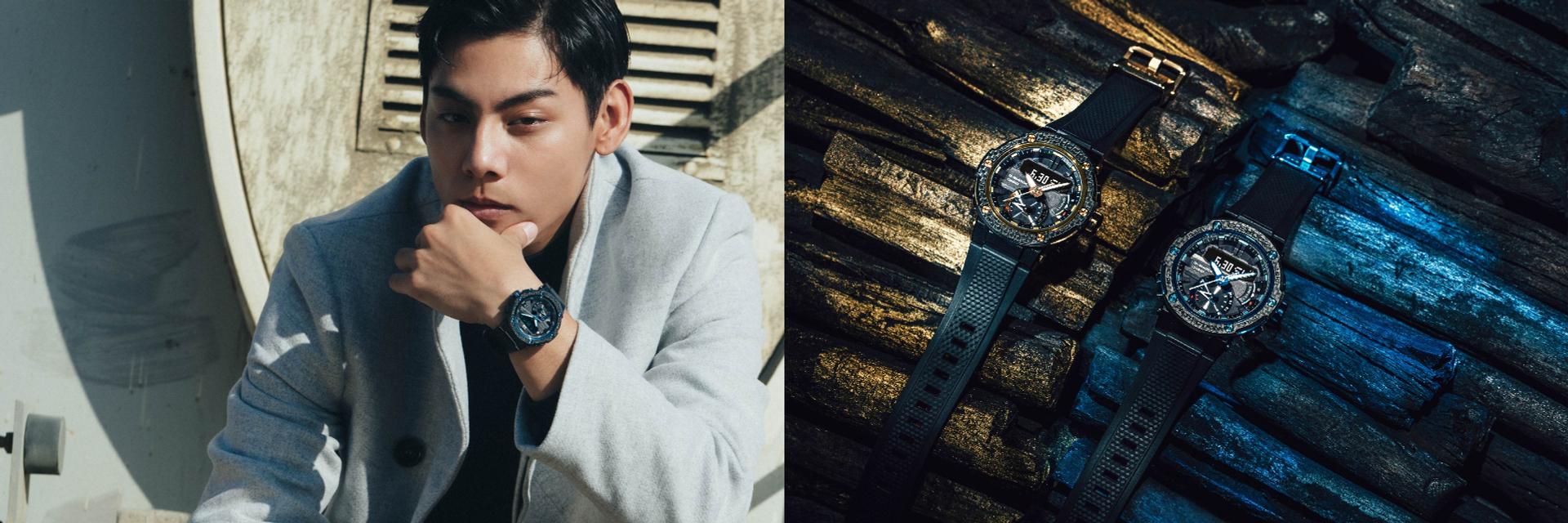雅痞紳士最愛!G-SHOCK這款碳纖維材質手錶太時尚,穿什麼都讓人無法忽略它的存在~